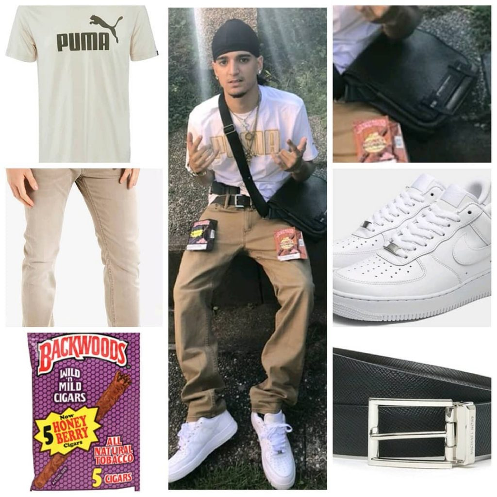 outfit di Manny Fresh
